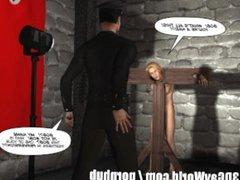 GAY BDSM vidz NIGHTMARE! 3D  super Gay Cartoon Animated Comics Bondage S&M