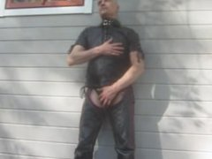 mr.mature leather vidz cum