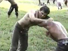 Turkish wrestlers vidz huge bulges