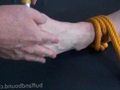 Huge Bodybuilder vidz Bound and  super Tickled - Wesley Steel