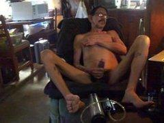 Dad masturbating vidz after pumping  super his penis