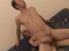 Gay Men vidz Anal Fucking  super With Cum Felching