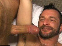 Hot mature vidz man eats  super cum willingly