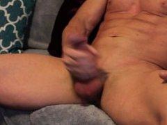 Fat cock vidz stroke and  super cum tasting