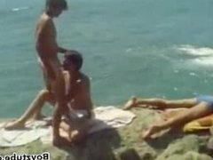 Vintage 70's vidz Surf Boys  super having a threesome