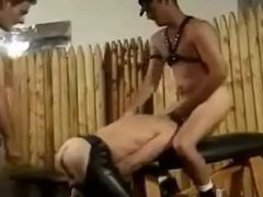 Pissing and vidz fucking leather  super fun