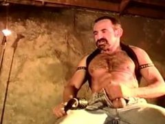 CBT Tough vidz hairy muscle  super stud does it to himself