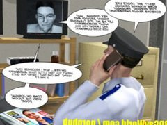 INVISIBLE COCK vidz Gay Sci  super Fi 3D Cartoon Animated Comic Story