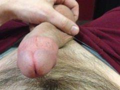 POV cumshot vidz while squeezing  super balls