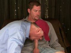I suck vidz 2 loads  super from Str8 redneck Mike's BIG cock and eat his spooge.