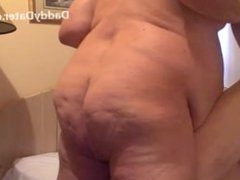 Bareback Daddy vidz Chubby Fucking  super an Anon Hookup met on DaddyDater