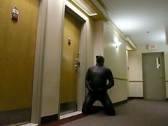 horny frogman vidz sneaks into  super hotel and breaks into a hotel room