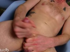 Redhead Straight vidz Guy JJ  super Masturbating