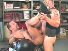 Machine Shop vidz biker Bareback  super Fuck