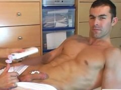 Straight man vidz of my  super dream gets wanked by me in spite of him !