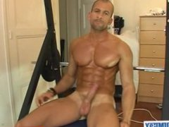 Huge chest vidz get massaged  super by a guy !
