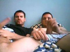 Amigos Exibindo vidz Seus Cacetões  super Na Webcam