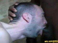 White guy vidz gangbang by  super 4 black tops