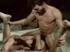 Vintage porn vidz star Al  super Parker fucks Bob Blount in INCHES (1979)