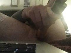 stockings and vidz dildo up  super my ass
