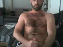 hairy dude vidz jacking and  super showing armpits