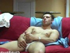 Muscular Straight vidz Guy Vani  super Masturbating