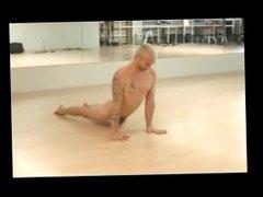 Male Nude vidz Yoga Workout