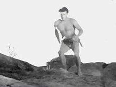 Pre-code Buster vidz Crabbe bare-ass  super as the Lion Man 2
