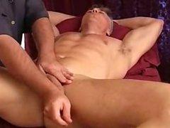Bi-curious Matt vidz gets a  super cock massage