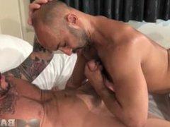 Igor Lucas vidz fucked by  super Rocco Steele's monster cock