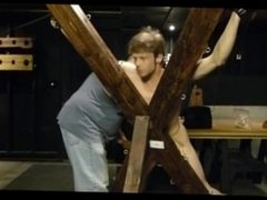 Bryce on vidz the St.  super Andrew's Cross at ExtremeBoyz.com