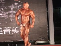 MUSCLEBULL MOHAWKED vidz ASIAN GOLD  super SHINY POSERS