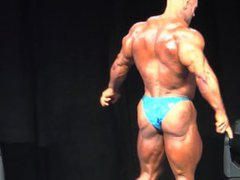 MUSCLEDAD MARTIN vidz BLUE SHINY  super POSERS 1/2