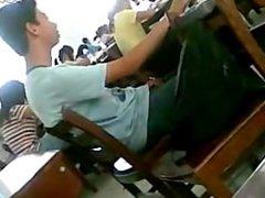 caught a vidz boy jerking  super in the classroom