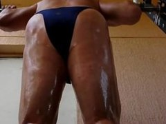 MUSCLE OILED vidz WORKOUT