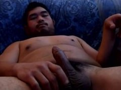 Jerking to vidz some Porn