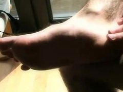 hairy god vidz leg and  super feet