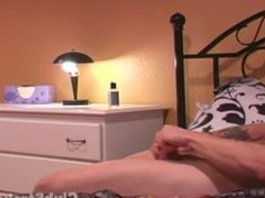 Amateur Straight vidz Guy Theo  super Masturbating