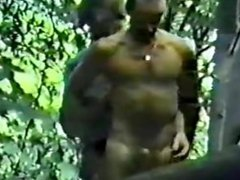Spycam Rugger vidz Bugger Fucks  super in Woods