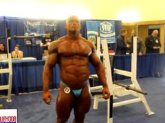 MUSCLEBULL BEN vidz BLUE SHINY  super POSERS BACKSTAGE