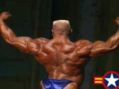 MUSCLEBULL MARKUS vidz RUHL -  super 1999 MR.OLYMPIA POSING ROUTINE