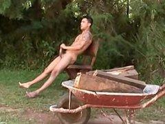 Straight Guys vidz Jerking 10  super - scene 6 (Léo) - (2009)