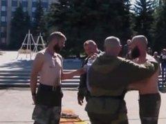 Amateur Russian vidz Gay Drunk  super Military BDSM