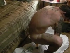 Sexy guy vidz gone fishing  super and later stretches his asshole