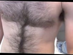 Hairy Straight vidz guy play  super is own
