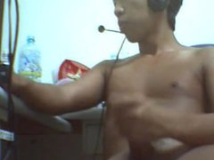 Asian boy vidz jerk off  super on cam