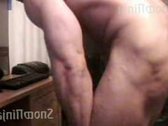Bodybuilder Brett vidz Mycles Webcam  super Posing Compilation #1