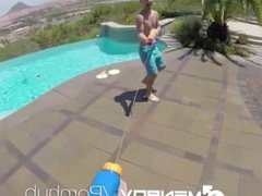 MenPOV Hot vidz day gets  super even hotter with some ass pounding
