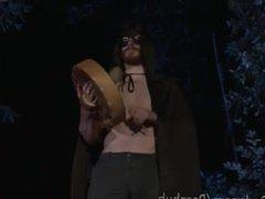 Outdoor Halloween vidz Ritual Fuck