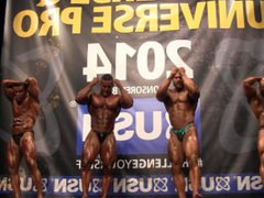 MUSCLEBULLS NABBA vidz Universe 2014,  super Amateurs Overall - Comparison 2